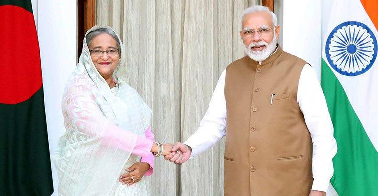 বাংলাদেশ-ভারত ৭ চুক্তি, উদ্বোধন করল ৩ প্রকল্প