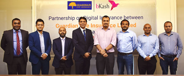 Guardian Life Insurance's 'Easy Life' policy now in bKash app